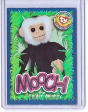 Ty S4 Beanie CARD WILD FACT MOOCH THE SPIDER MONKEY SILVER INSERT ONLY 265