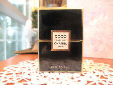 80's COCO CHANEL Perfume/Parfum Splash 7ml-1/4oz NEW SEALED Box, Original, Rare!