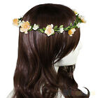 New Women Boho Style Floral Flower Hairband Headband Festival Party Wedding
