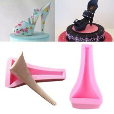 3D Silicone Fondant Cake Stilleto High Heel Lady Shoe Mold Cookie Chocolate Mold