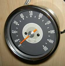 Smiths replica tachometer with grey face for BSA models using 3-1 drive ratio
