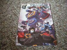 Transformers #5 (2002-2005) DW Comics Decepticon Cover VF/NM