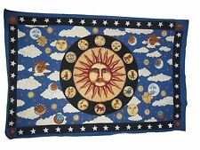 ZODIAC ASTROLOGY TAPESTRY BED COVER NWT 54 X 86 inches