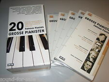 Surtout (Haskil, Kempff, Arrau)/20 grand pianiste-Famous pianists - 20 CD-Box