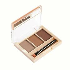 Makeup 3 Colors Eyebrow Powder Concealer Palette With Mirror Eyebrow Brush