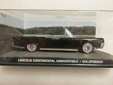 James bond voitures collection 132 lincoln continental convertible goldfinger