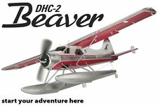 BRAND NEW FLYZONE ISLAND WINGS DHC-2 BEAVER Rx-R RECEIVER READY 59.5 FLZA4024
