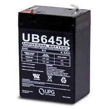 UPG UB645 6V 4.5Ah SLA640 APS46 LA640 SLA4-6 SLA Battery