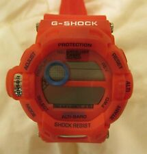 CASIO G-SHOCK G-9200 RISEMAN TOUGH SOLAR MENS WATCH RED