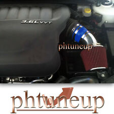 BLUE RED 2011-2015 DODGE AVENGER JOURNEY 3.6 3.6L Pentastar V6 AIR INTAKE KIT