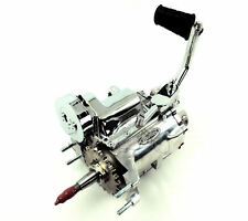 Polished 4-Speed Kicker 2.60:1 Transmission Trans Harley Big Twin Shovelhead FL