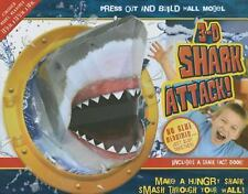 3D Shark Attack!: Make A Hungry Shark Smash Through Your Wall (Press Out & Build
