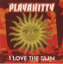 Playahitty I love the sun (1996; 2 versions, cardsleeve) [Maxi-CD]