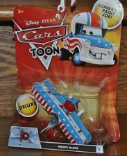 Disney Pixar Cars Mega size Die Cast Deluxe Toon Props McGee Biplane #5  NEW