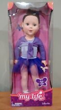 """Madame Alexander 18"""" inch  Doll My Life as a Ballerina Brown Hair and Blue Eyes"""