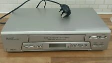 SHARP vc-mh75 VHS VCR VIDEOREGISTRATORE LETTORE AUDIO