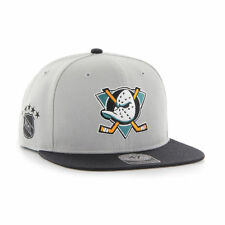 Anaheim Mighty Ducks '47 Brand NHL Vintage Hockey Snapback Hat Cap - Sure Shot