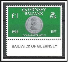 Guernsey #202 Coins on Stamps MNH