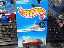 Hot Wheels 1996 Mustang 7 Spoke Wheels #378 FIRST EDITION CANADA CARD VARIATION