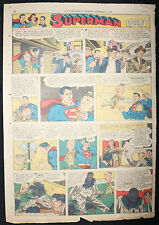 Superman / Mandrake the Magician - Star Weekly Newspaper Clipping - 9/2/1950