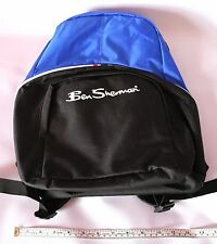 BEN SHERMAN MENS COLOR BLOCK BACK PACK IN BLUE BLACK