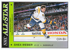 15/16 O-PEE-CHEE OPC ALL-STAR GLOSSY WINNER SP #AS-49 SHEA WEBER PREDATORS *5876