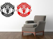 Man Utd Wall Art Decal The Red Devils Manchester United MUFC