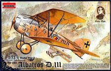 ALBATROS D III OEFFAG SERIE 253 (AUSTRO-HUNGARIAN MARKINGS) 1/72 RODEN