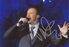 CLASSICAL MUSIC: RUSSELL WATSON SIGNED 6x4 ACTION PHOTO+COA **OPERA**TENOR**