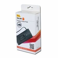 BATTERY PACK POWER PIXEL TD-381 Per FLASH Canon 600EX-RT BATTERIA AUSILIARIA