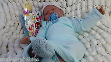 **SPECIAL OFFER**REBORN BABY BOY DOLL WITH SURPRISE GIFT BAG BY SUNBEAMBABIES