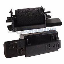 Rodillos De Tinta Negra 10x IR40-Casio 140-CR Sharp XEA102 XE-A102. Uniwell, Geller.
