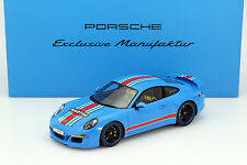 Spark 2014 Porsche 911 (991) Carrera S Martini Mit Vitrine Baujahr 1:18 Dealer!