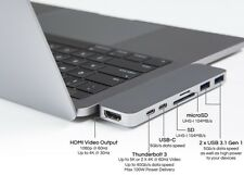 HyperDrive Thunderbolt 3 USB-C Hub for MacBook Pro Worlds Most Compact & Fastest