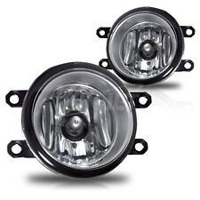 Clear replacement fog lights fit for 2012 Scion iQ (set)