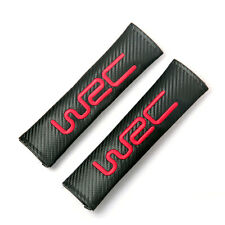 WRC Car Shoulder Pads Seat Belt Cushion Pads