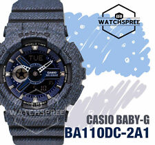 Casio Baby-G New Demin'd Collection Limited Model Series Watch BA110DC-2A1