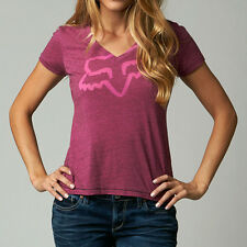 Fox Racing Fox Girl Rational Vneck Tee Bordeaux (Medium)
