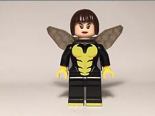 Lego WASP Custom Machine Printed Minifig Marvel Avengers Janet van Dyne Hero