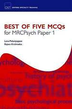 Best of Five MCQs for MRCPsych Paper 1 (Oxford Specialty Training) by Palaniyap