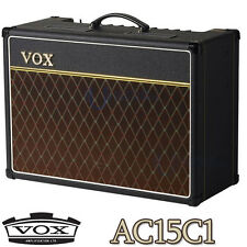 VOX AC15C1 15 Watt Tube Guitar Combo Amp (Black) - Refurbished