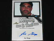 JOE GORGA  2014 LEAF  keeping it real  AUTO  the real housewives of new jersey