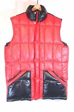 Adidas Size M Padded TREKKING Vest Gilet Body Warmer Hiking Hunting Red EUC