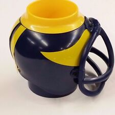 NCAA Helmet Mug, Michigan Wolverines, NEW