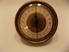 Vintage Wittnauer Barometer & Thermometer Temperature & Humidity ART DECO