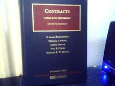 Cases and Materials on Contracts by William F. Young and E. Allan Farnsworth...