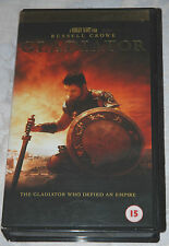 GLADIATOR Video VHS Tape - Widescreen Edition - Russell Crowe, Oliver Reed