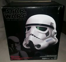 Star Wars Black Series Rogue One Stormtrooper Voice-Changer Helmet stock 10/5