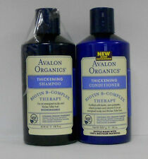 Avalon Organics Thickening Biotin B-Complex Shampoo & Conditioner (Combo Pack)