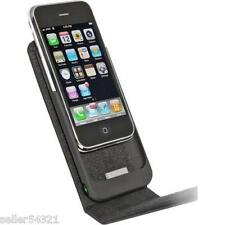 Monster Mobile 129365-00 Leather Charging Case iPhone 3G 3GS